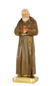 santo padre pio san michele di produzione arte barsanti statue in gesso e presepi artigianali