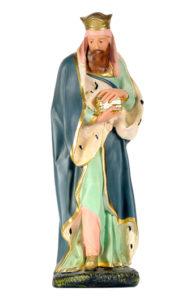 statua in gesso per presepe dipinta a mano artigianato toscano arte barsanti