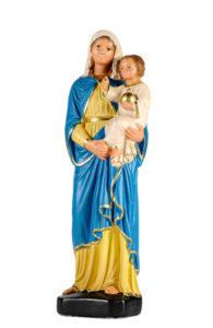 madonna con bambino statu in gesso prodotta da arte barsanti lucca