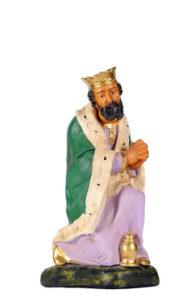 statuina artigianale in gesso dipinta a mano artigianato toscano arte barsanti