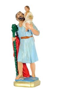 san cristoforo san michele di produzione arte barsanti statue in gesso e presepi artigianali