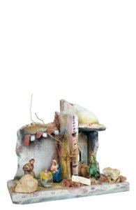 capanna per presepe di arte barsanti produzione artigianale presepi