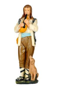statuina in gesso per presepi artigianali arte barsanti lucca