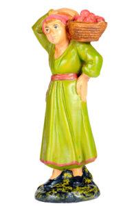 statuina per presepe in gesso arte barsanti made in italy