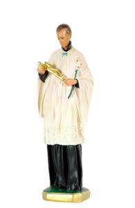 statua di san luigi produzione arte barsanti statue in gesso e presepi