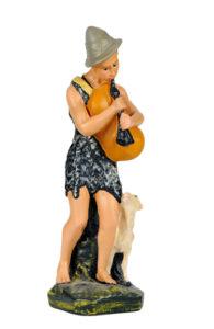 figura in gesso per presepe in gesso dipinta a mano made in italy
