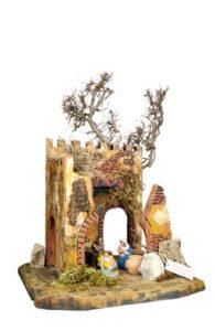 capanna presepe di arte barsanti produzione artigianale presepi toscana