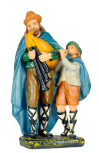 pastore in gesso per prespi artigianali di arte barsanti lucca