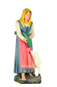 figurina in gesso realizzata amano da arte barsanti presepi
