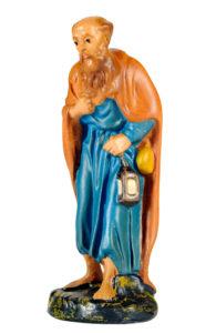 figura in gesso per presepe artigianale made in italy