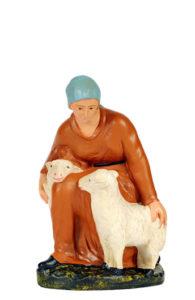 statuina artigianale in gesso dipinta a mano made in italy