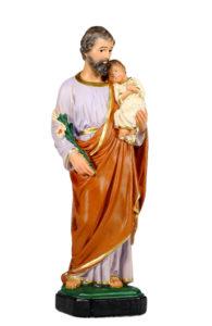 san giuseppe sacra famiglia san michele di produzione arte barsanti statue in gesso e presepi artigianali