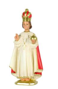 santo bambino di praga di produzione arte barsanti statue in gesso e presepi lucca
