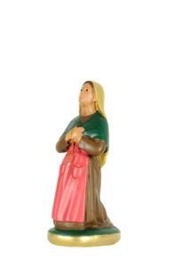 statua in gesso di santa bernadette di produzione arte barsanti presepi