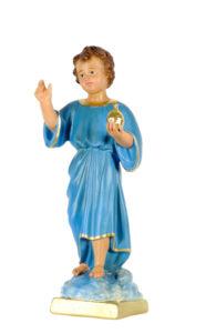santo benediciente statua in gesso di produzione arte barsanti presepi