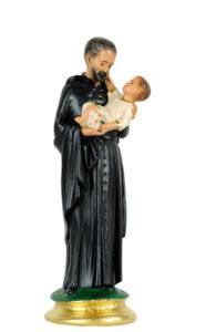 statua di san gaetano di produzione arte barsanti statue in gesso e presepi