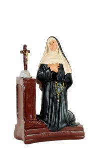 statua di santa di produzione arte barsanti presepi