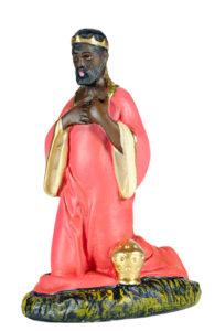 statuina di presepio realizzata a mano in gesso artigianato toscano