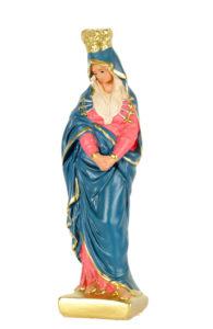 statua in gesso dipinta a mano di produzione arte barsanti presepi Lucca