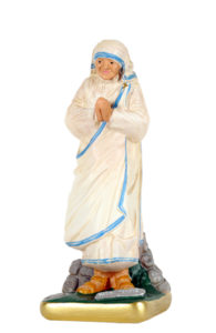 statua santa madre teresa di calcutta di produzione arte barsanti statue in gesso
