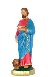 san marco evangelista san michele di produzione arte barsanti statue in gesso e presepi artigianali
