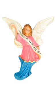 statuina in gesso per presepe artigianato toscano