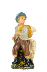 statuina presepe in gesso arte barsanti