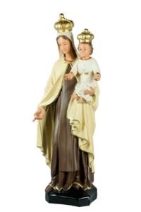 statua in resina della madonna del carmine di arte barsanti presepi e statue sacre
