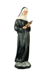 statua sacra di santa rita di produzione arte barsanti presepi