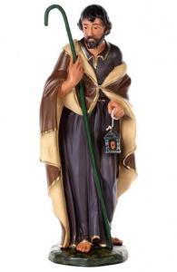 Statua di San Giuseppe in gesso cm 60